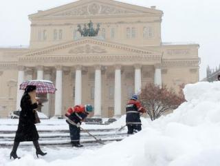 Москву посыпают радиоактивным реагентом
