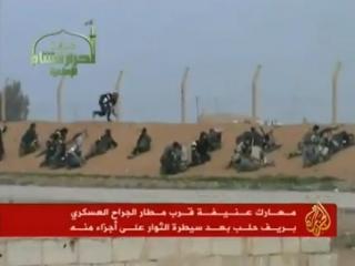 Сирийские власти потеряли базу ВВС и 40 боевых самолетов