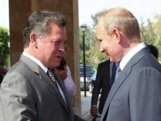 Путин встретится с королём Иордании