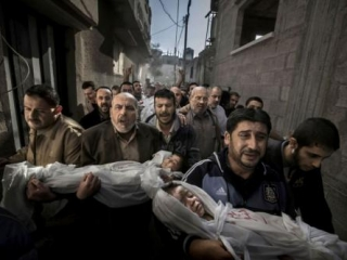Лучшее фото 2012 года снято в секторе Газа