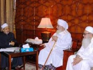 Шейх Аль-Азхара на встрече с лидерами «Таблиги Джамаат»