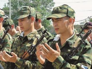 Пятая часть армии России исповедует ислам