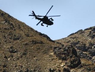 В Афганистане разбился натовский вертолет