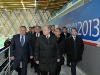 Путин: Казань становится спортивной столицей  России