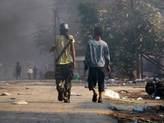 В Мьянме буддисты 3 дня громили мусульманские кварталы
