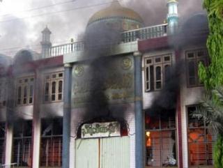 В Мьянме продолжаются антимусульманские погромы