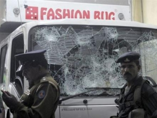 Буддистские монахи атаковали склад мусульман на Шри-Ланке