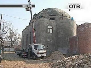 Mечеть в Уссурийске строят народным способом - вскладчину и через стахановские субботники