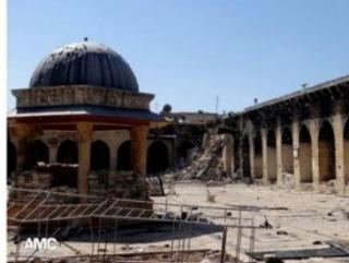 Сирия: Разрушен минарет мечети Омейядов