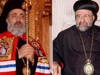 епископы Булос Язиджи (слева) и Юханна Ибрагим