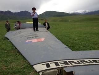 Киргизские службы ищут американских пилотов