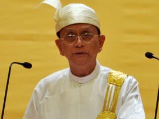 Президент Бирмы Тейн Сейн