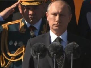 Президент поздравил россиян с Днем Победы