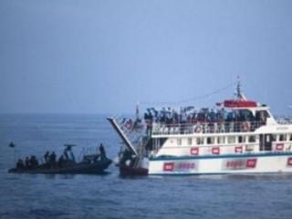 Израиль атаковал «Флотилию свободы» в международных водах