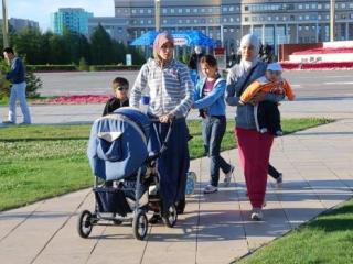 На улицах Казани