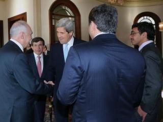 Участники одной из встреч «друзей Сирии»