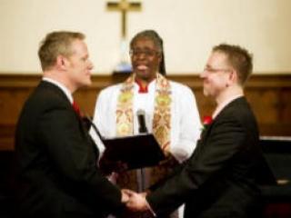 Бракосочетание однополых супругов