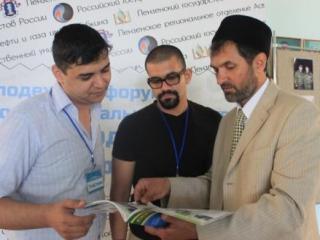Участники форума: Муса аль Ариф Али (Сирия), Алмин Мина Альберт (Египет),  Абдуррауф Забиров (Россия)