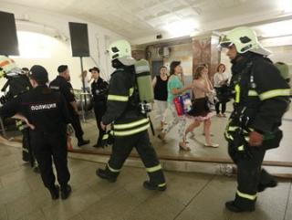 В результате пожара на Сокольнической линии метро 16 человек были госпитализированы