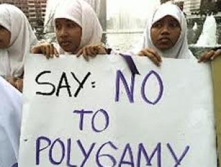 мусульманки Малайзии против «полигамии». Возможно, они что-то неправильно поняли