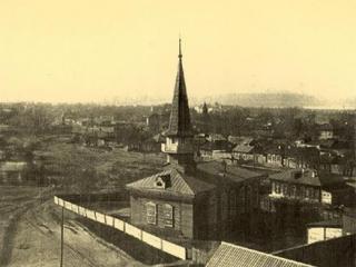 Мечеть Новониколаевского Магометанского общества была построена в 1916 году