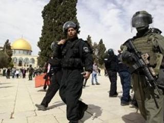 Полицейский беспредел у стен аль-Акса