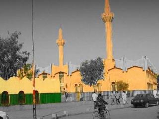 Мечеть в столице Чада - городе Нджамена