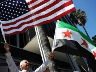 Акция в поддержку сирийской оппозиции
