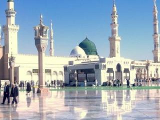 Медина. Священная мечеть Пророка (С.А.С)