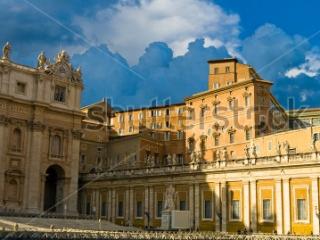 Апостольский дворец-резиденция папы