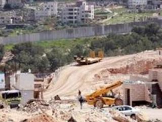 Площадка строительства иудейского центра в арабском квартале