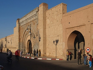 Вид Магрибских ворот Старого Иерусалима