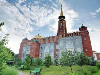 Соборная мечеть - один из символов Самары