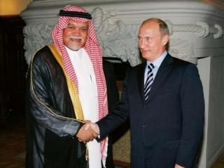 Предыдущая встреча Владимира Путина с Бандаром бен Султаном
