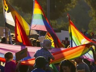 Еврейские гомосексуалисты провели парад в Иерусалиме