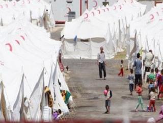 Саудовская Аравия направила палатки в  помощь сирийским беженцам