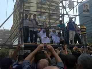 Сторонники Мурси переместились на площадь Мустафы Махмуда