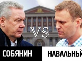 Собянин vs Навальный – опросы ВЦИОМ и IslamNews