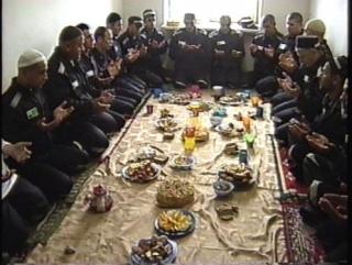 Осужденные уральской колонии отмечают мусульманские праздники