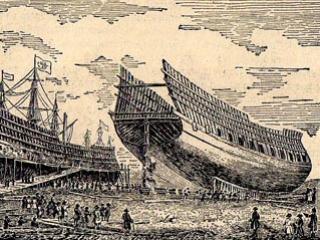 У истоков российского корабельного флота стояли татары