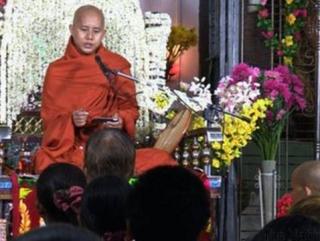 Буддийский монах обвиняется в антимусульманских действиях
