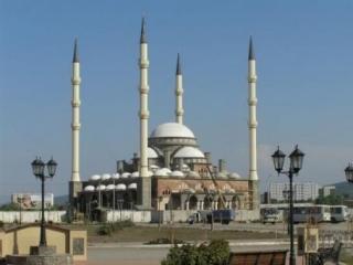 Грозный. Мечеть «Сердце Чечни»