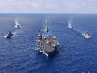 Авианосная ударная группа США направлена к берегам Сирии