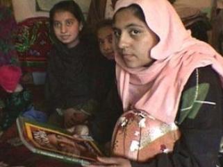 Афганские девочки, вооруженные пером и стихами