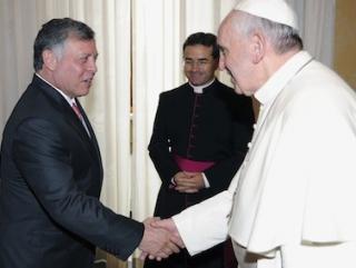 Король Иордании призвал мусульман и христиан защищать друг друга