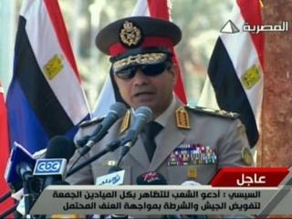 Генерал Сиси метит в президенты