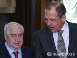Лавров встретится с главой МИД Сирии