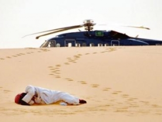 Страшная смерть настигла супругов в аравийской пустыне