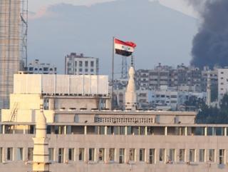 Боевики взорвали посольство РФ в Дамаске