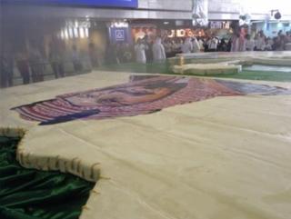 Свой национальный день Саудия отпраздновала рекордным пирогом
